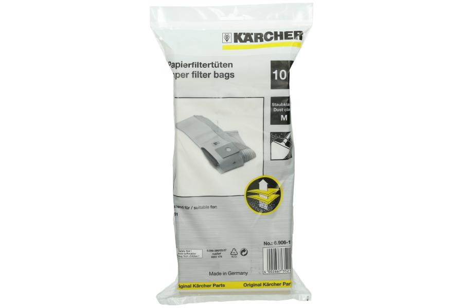 K 228 Rcher 6 906 118 Professional T201 Vacuum Bags Fiyo Co Uk