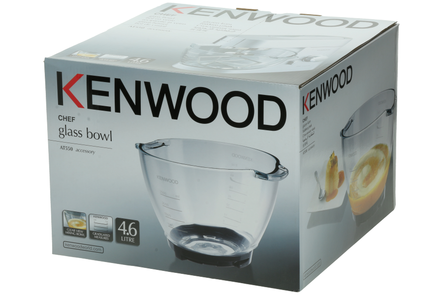 Kenwood Bowl At550 Glass Bowl For Food Processor