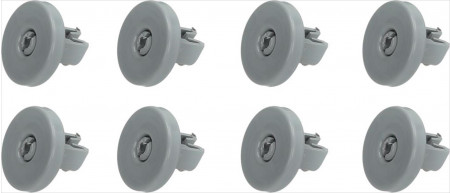 Fiyo Wheels Dishwasher suitable for Aeg, Electrolux, Zanussi Bottom basket 8 Pieces 50286965004