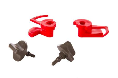 Mechanical lock set for cooker hood 00181272, 181272