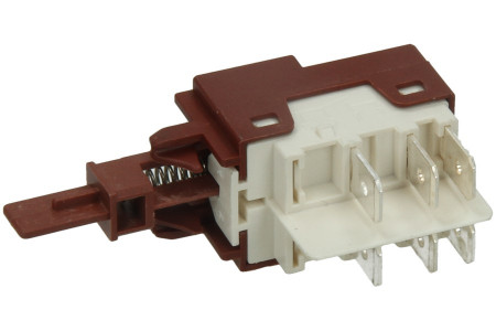 Switch (6 Contacts/short pin) for dishwasher 50287473008