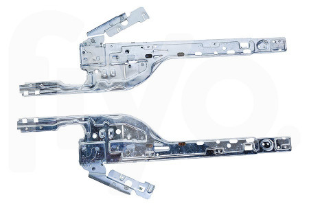 Door hinge set left right metal 750x28x230mm dishwasher 4055393351