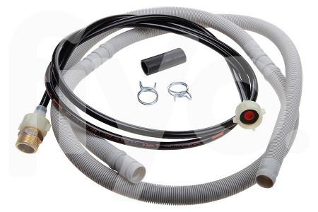 Universal extension set supply hose drain hose 2m dishwasher 101482