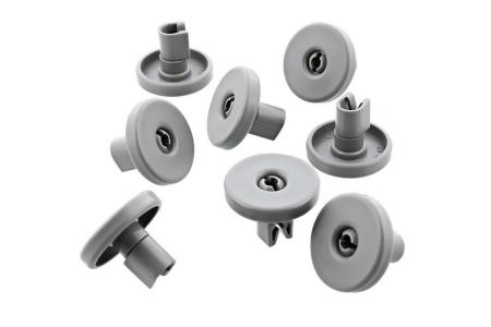 Wheels Dishwasher suitable for Aeg, Electrolux, Zanussi Bottom basket 8 Pieces 50286965004