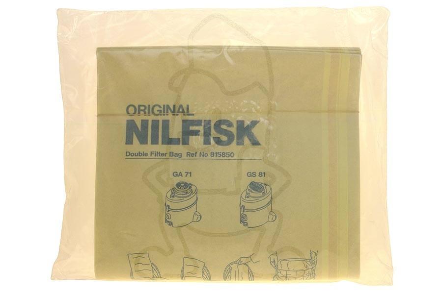 Nilfisk Gs81 Vacuum Bags 81585000 Fiyo Co Uk