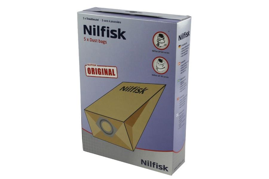Nilfisk Ga70 Gs80 90 Gm90 Vacuum Bags 9 75 Liter