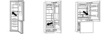 Refrigerator type number