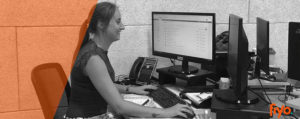 Let's introduce our employee of the month: Anneke from customer service